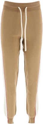 See by Chloe JOGGER PANTS XS Brown, Beige, Red Cotton