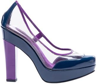 Louis Vuitton Purple Plastic Heels