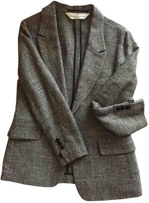 Golden Goose Grey Silk Jackets