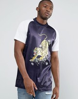 Jaded London Souvenir T-Shirt With High Neck