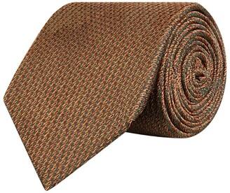 Purdey Silk Tweed Print Tie
