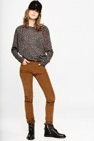 Zadig & Voltaire Justy Print Cashmere sweater
