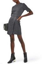 Topshop Women's Wrap Front Sheath Dress