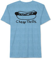 JEM Men's Hot Dog Graphic T-Shirt