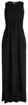 M Missoni Solid Side Split Dress