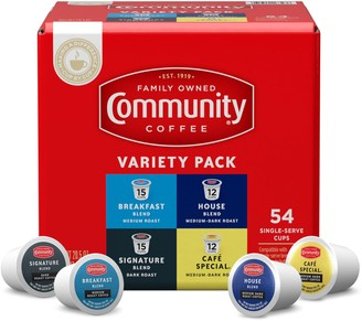 Community Coffee 54-Ct Variety Pack Single Serve Cups