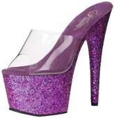Pleaser USA ADO701LG/C/PPG Women's Platform Dress Sandal