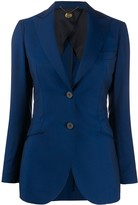 Maurizio Miri fitted single-breasted jacket