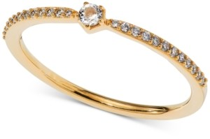 AVA NADRI Crystal Band Ring