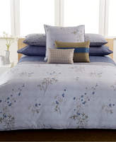 Calvin Klein Bamboo Flowers King Fitted Sheet Bedding