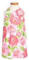 Pippa & Julie Floral Shift Dress (Toddler Girls)