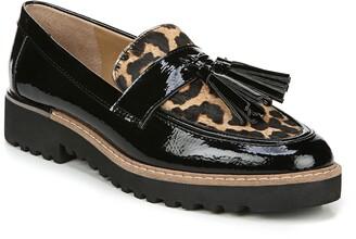 Franco Sarto Carolynn Genuine Calf Hair Detail Loafer