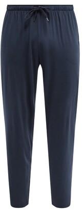 Derek Rose Stretch-jersey Lounge Trousers - Mens - Navy