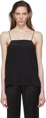 Tula Julia Jentzsch Black Silk Tank Top