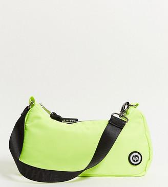 Hype Exclusive shoulder bag in neon green