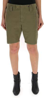 Saint Laurent Embroidered Cargo Shorts