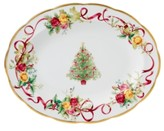 Royal Albert CLOSEOUT! Old Country Roses Holiday Oval Platter