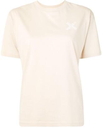 Kenzo sports mesh stripe T-shirt
