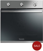Baumatic BOMM608X 60cm Built-in Electric Single Oven - Stainless Steel