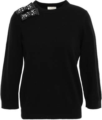 Kate Spade Bow-embellished Knitted Sweater