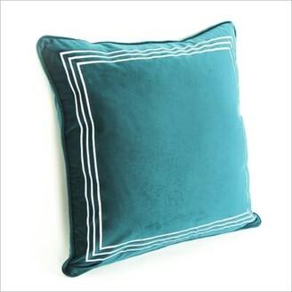 Mercer41 Tomasini Velvet Throw Pillow Cover Mercer41