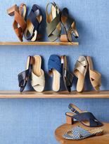 Talbots Trisha City Sandals-Denim
