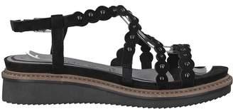 Tamaris Eda Leather Wedge Sandals