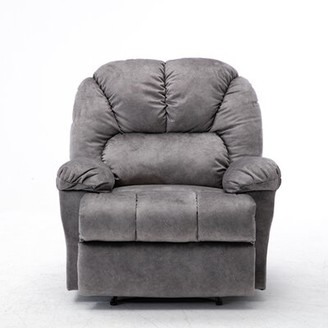 Red Barrel Studio Androw Recliner Upholstery Color: Grey
