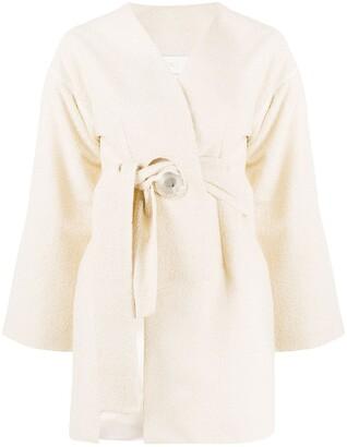 Loulou Asymmetric Tie Vest