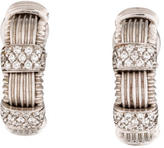Roberto Coin Appassionata Huggie Clip-On Earrings