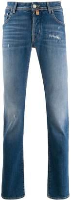 Jacob Cohen pocket-detail slim-fit jeans