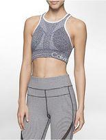 Calvin Klein Womens Performance Logo Reversible Sports Bra