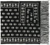 Alexander McQueen skull fringe scarf - women - Silk/Polyamide/Wool - One Size