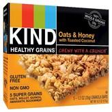 Kind Oats & Honey Gluten Free Granola Bars - 5 Count