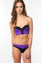 UO Colorblock Bustier Bikini