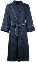 Erika Cavallini - polka dot dressing gown - women - Silk - 42