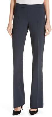 HUGO BOSS Tulea Side Zip Tropical Stretch Wool Trousers