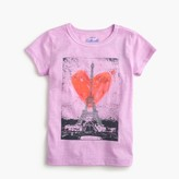 J.Crew Girls' Eiffel Tower heart T-shirt
