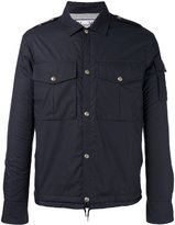 Moncler Gamme Bleu snap button jacket