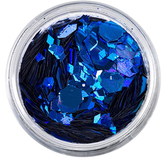 The Gypsy Shrine SHR X Face; Hair and Body Glitter - Blue Mermaid