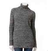Women's AB Studio Marled Turtleneck Sweater