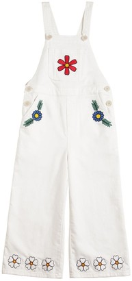 Stella McCartney Stretch Cotton Denim Overalls