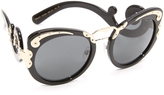 Prada Embellished Sunglasses