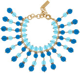 Etro Beaded gold-plated Swarovski crystal bracelet