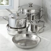 Crate & Barrel Le Creuset ® Signature Stainless Steel 10-Piece Cookware Set