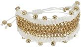 Sam Edelman Chainmail Macrame Bracelet