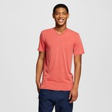 Mossimo Men's Big & Tall V-Neck T-Shirt Red Burnout
