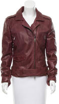 Giorgio Brato Leather Quilted Jacket