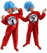 Dr. Seuss Kids' Thing 1 and 2 Costume- Medium (8-10)
