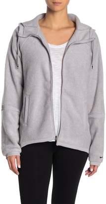 Nike Fleece Drawstring Hooded Jacket